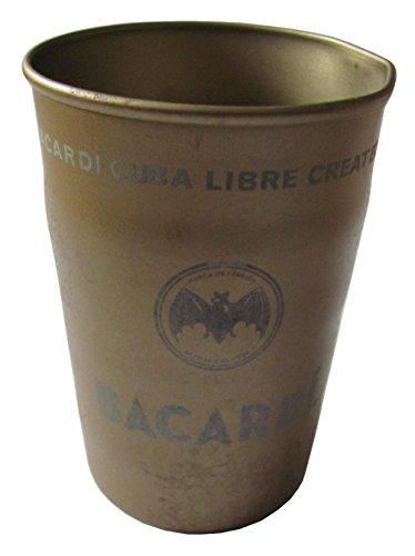 Bacardi - Becher aus Blech