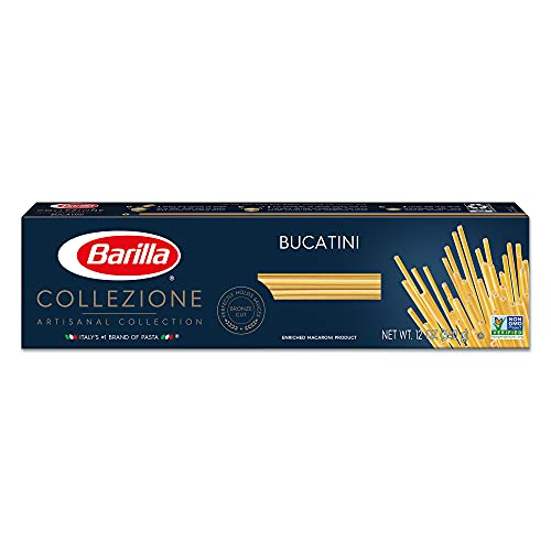 Barilla Collezione Pasta, Bucatini, 12 Ounce (Pack of 20)