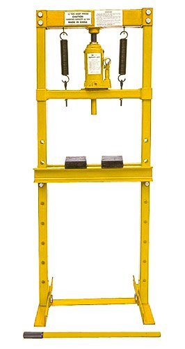 JEGS 81515 12-Ton Hydraulic Shop Press Floor Mount