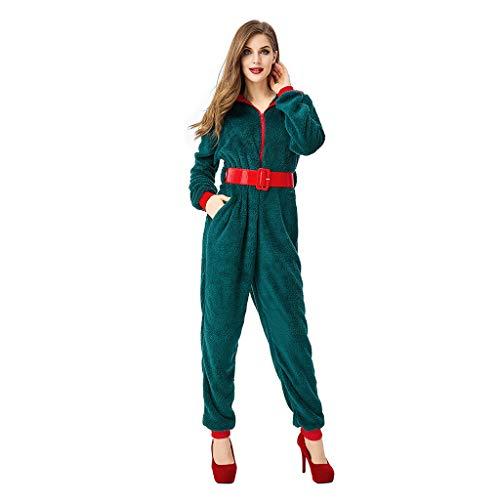 Vrouw Kerstmis slaapoverall dames moeder kinderen pluche overall jumpsuit kerstpijama Christmas hooded comfy onesies met stijl. Knuffelig, familie overall jogging - vrije tijd pak,