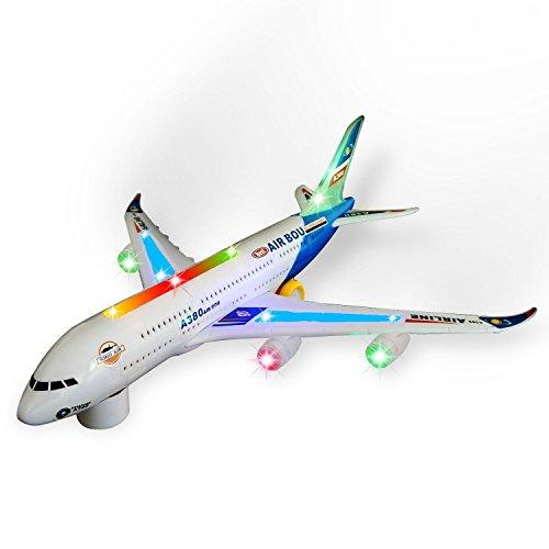 Zviku Kids airplane A380 toy pla...