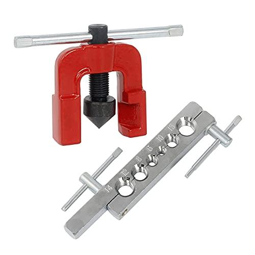 ESTone Tubería de tubo de herramientas de ensanchamiento conjunto de tubos manual expansores métricos/pulgadas de expansión boquilla dispositivo para herramientas de perforación de tubos de co