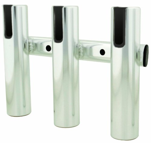 TACO Metals Aluminum 3-Rod Rack, Brushed