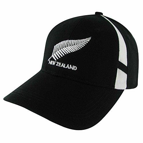 New Zealand Baseballkappe für Erwachsene, verstellbar, für Rugby- oder Fußball-Fans