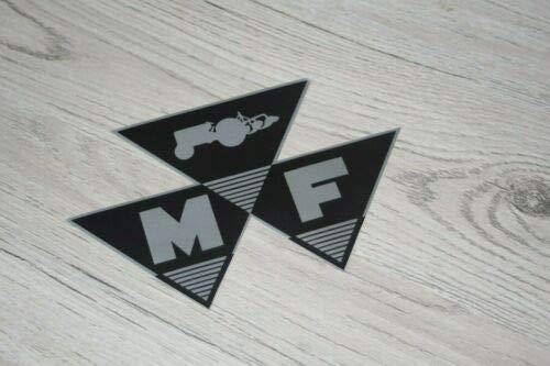 Massey Ferguson Traktor MF Symbol Aufkleber Sticker Label Logo