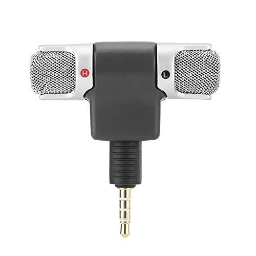 Micrófono de vídeo, micrófono Externo, grabadoras de PC de 3,5 mm para grabación de Sonido, teléfonos móviles, producción de vídeo