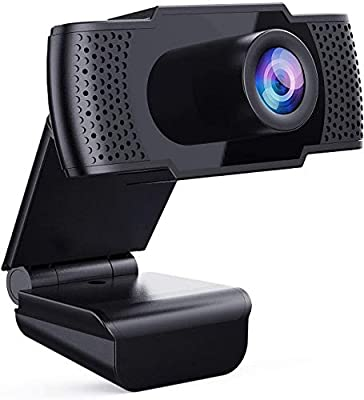 Webcam with Microphone - Full 1080P HD PC Webcam Portable Compatible with Most of Device & App, Plug and Play Webcam for Online Class Online Conferencing Streaming Laptop Desktop USB 2.0 Web Camera from Firsting