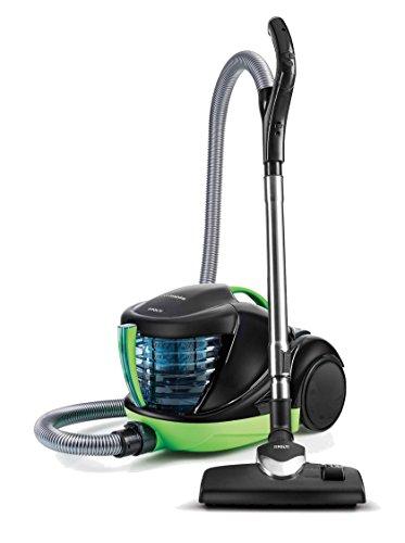 Polti PBEU0093 Forzaspira Lecologico Allergy Turbo, 1700 W, 1 Liter, 80 Decibelios, Aluminio, plástico, Negro y verde