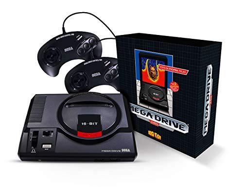 Tectoy Mega Drive 1 Com 2 Joystick 7891196040481 Mega Drive I Com 2 Joystick, Preto - Sega_megadrive_32x