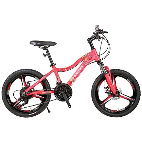 Bicicletta per bambini Mountain Bike Bicicletta per Adulti E Ragazzi 26 Pollici Telaio In Acciaio Ad Alto Tenore di Carbonio Bici da Strada All'aperto con Freno A Doppio Disco MTB Full Suspension 21 V