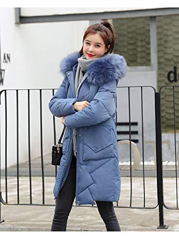 HSXQL donsjack, lang, met capuchon, patchwork, winter, onder, jas, dames, oversize, katoen, gewatteerd, parka, mouwen winddicht