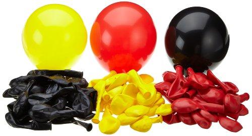 Karaloon G090-00 - 99 palloncini, nero/rosso/giallo
