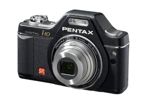Pentax Optio I-10 (12.39 MP, 5 x Optischer Zoom, 2.7 zöllige FLÜSSIGKRISTALLANZEIGE) OPTIOI-10CB Schwarzer Klassiker