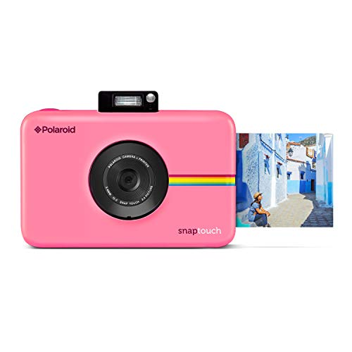 Polaroid SNAP Touch 2.0 13MP Tragbare Digitale Sofortbildkamera mit LCD Touchscreen Display, Zink Null Tinte Drucke 2x3, Rosa
