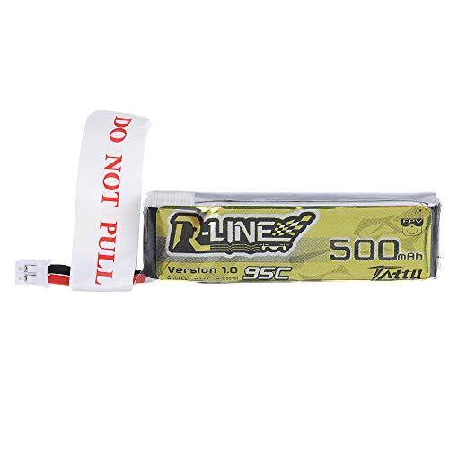 KINGDUO 1.0 3.7V 500Mah 95C 1S Lipo Batteria Ph2.0 Spina per Multirotore da 100 A 180 Mm FPV Udirc U818A Rc Racing Drone