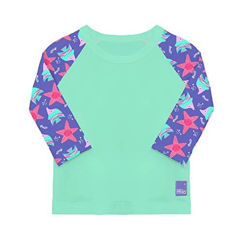 Bambino Mio Tropical Punch Camiseta Bañador, Multicolor (Violet), 0-6 Meses