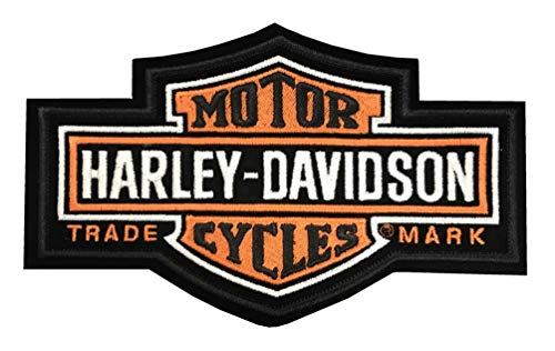 Harley-Davidson Aufnäher Bar & Shield