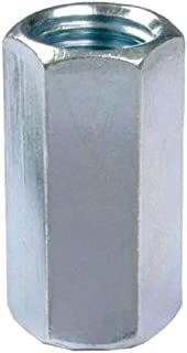 L.H. Dottie RC2 Rod Coupling, 3/8-Inch Diameter by 1-1/8-Inch Length, Zinc Plated, 50-Pack