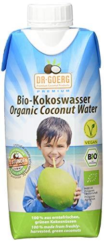 Dr. Goerg Premium Bio-Kokoswasser, 6er Pack (6 x 330 g)