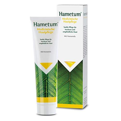 Hametum Medizinische Hautpflege Creme – Sanfte Pflege für trockene, empfindliche Haut – 1 x 100g