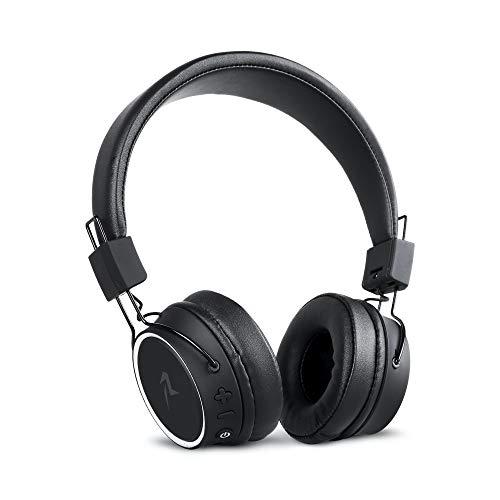 Redlemon Audífonos Bluetooth Inalámbricos y Plegables Tipo Diadema, Sonido High Definition, Batería de Larga Duración, Aislamiento...