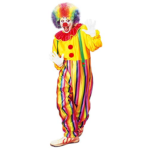 WIDMANN 39634 – Disfraz de Circo, Mono con Cuello y Tirantes, pájaro Divertido, cumpleaños Infantil, Disfraz, Carnaval, Fiesta temática