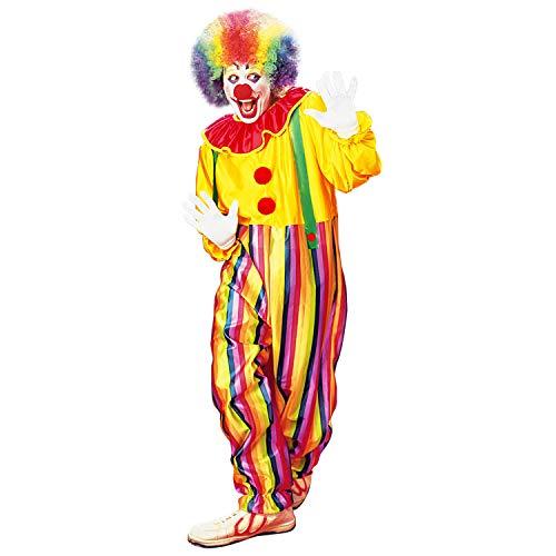WIDMANN 39634  Disfraz de Circo, Mono con Cuello y Tirantes, pjaro Divertido, cumpleaos Infantil, Disfraz, Carnaval, Fiesta temtica