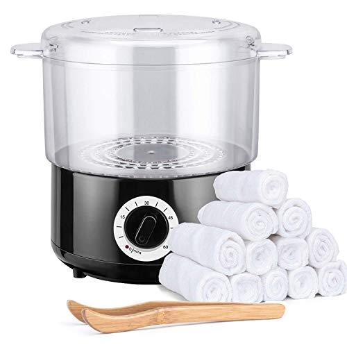 pequeño y compacto Vaporizador de toallas rápido 4YANG, calentador de toallas para uso diario …