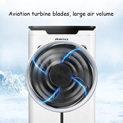 MU Home Wohnzimmer Schlafzimmer Fan-Fan Mobile Kühlung, Hochleistungs-Industrieklimaanlage mit Zeitsteuerung über Fernbedienung