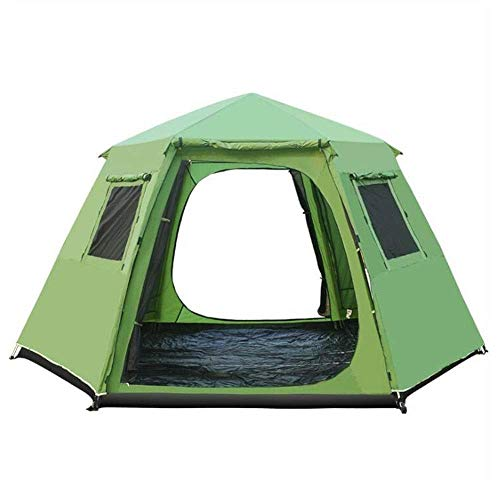 Outdoor camping tent 5-8 berths for camping Family camping tent