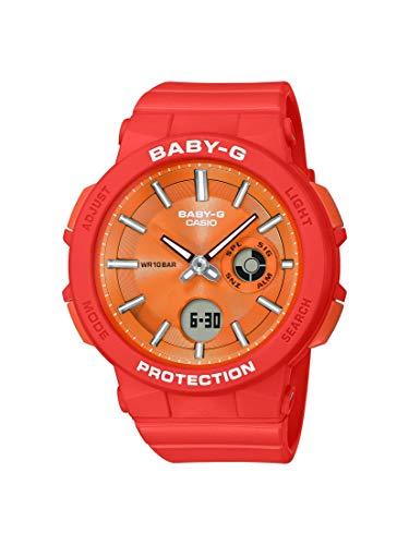 Casio BGA255-4A Baby-G Women's Watch Orange 45.1mm Resin