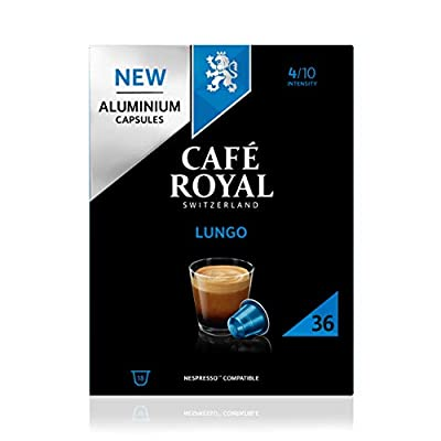 Cafe Royal Café Royal Compatible Aluminium Coffee Pods