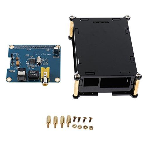 IPOTCH HiFi DiGi + Digitale Soundkarte I2S SPDIF Glasfaser & Gehäuse für Raspberry Pi