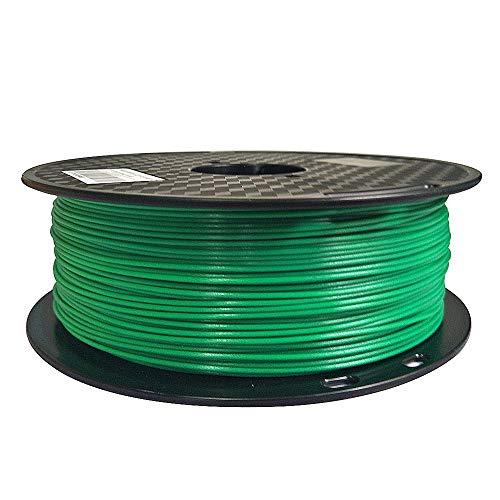Filamento PETG verde jade fácil de imprimir 1.75 mm 1 kg filamento de impresora 3D carrete de 2.2...