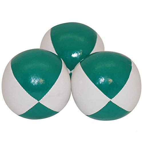 Juggling Balls Professional Style Set of 3 - How to Juggle Kit with Bean Bags for Juggling for...