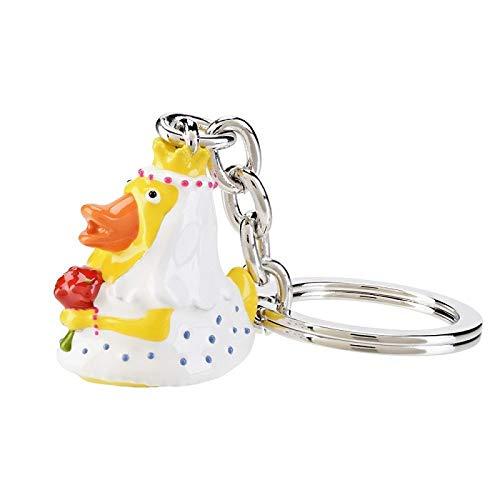 Schlüssel-Anhänger Braut DAGGY Handy-Anhänger Taschen-Anhänger Geschenk-Idee Frau-en Glücks-Bringer Hochzeits-Geschenk
