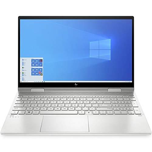 HP Envy x360 Convertible 15-ed0768ng, Silver, Intel Core i5-1035G1, 16GB RAM, 512GB SSD, 15.6' 1920x1080 FHD, HP 1 YR WTY, German Keyboard + EuroPC Warranty Assist, (Renewed)