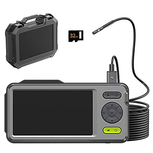 Endoscopio industrial HD de 5 pulgadas - Cámara de doble lente de...