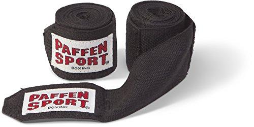 Paffen Sport Boxbandagen unelastisch, 3,0 m, schwarz