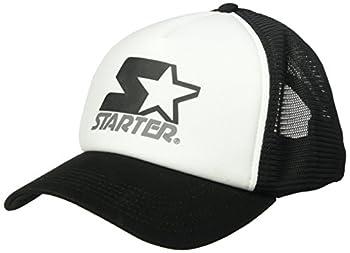 Starter Women s Mesh-Back Trucker Cap Amazon Exclusive White/Black One Size