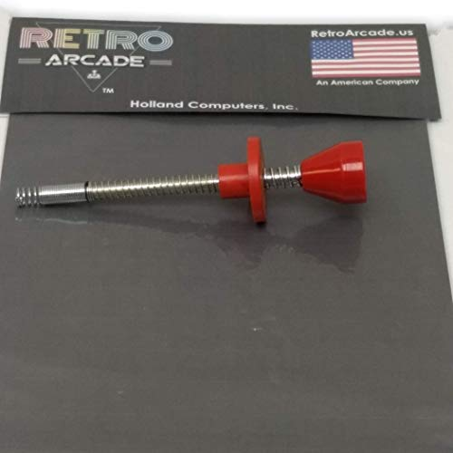 RetroArcade.us ra-Ball-Shooter-sm Universal Pinball Ball Shooter Assembly with Rod Spring