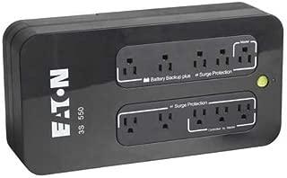 Eaton 3S 550 VA Desktop UPS - 550 VA/330 W - 132 V AC - 3 Minute - Desktop - 3 Minute - 4 x NEMA 5-15R - , 4 x NEMA 5-15R - 3S550