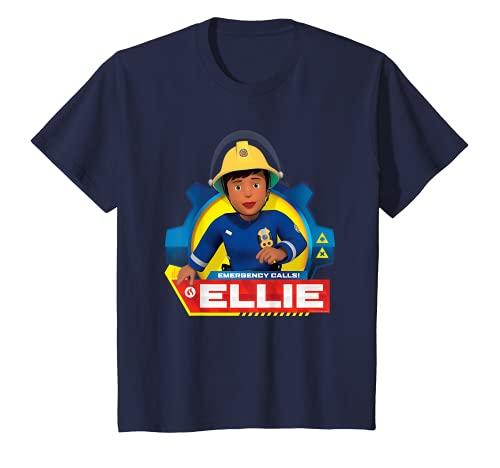 Kinder Feuerwehrmann Sam T-Shirt, Ellie, viele Größen+Farben