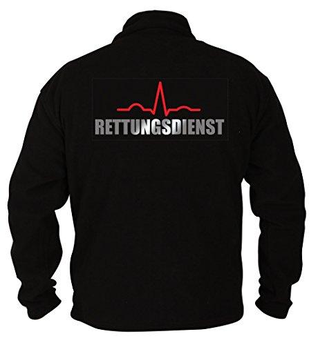 Rescue Point Rettungsdienst Herren Fleece Sweatshirt PRETTER1 (XL)
