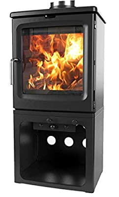 Peanut 5 Tall Multifuel Woodburning Stove DEFRA Approved EcoDesign