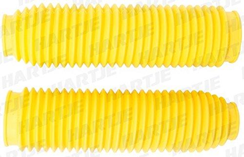 Progrip PA251045GOGI 2510 Fork Boots//SOFFIETTI Diametro 42//45-60//65 Gomma Giallo