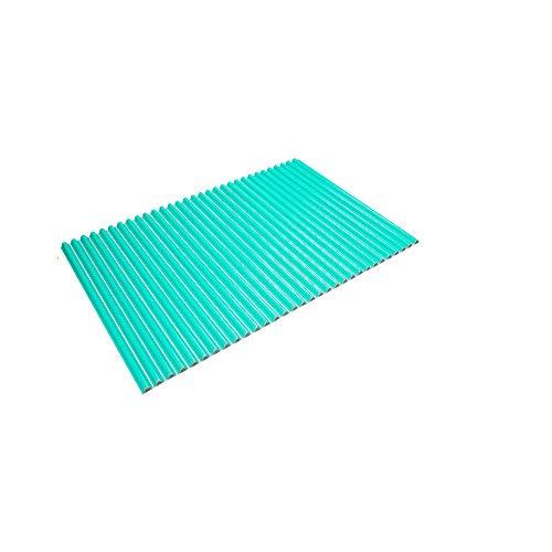 東プレ シャッター式風呂ふた 波型 カラーウェーブ 70×101cm グリーン M10