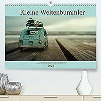 Kleine Weltenbummler 2022 (Premium, hochwertiger DIN A2 Wandkalender 2022, Kunstdruck in Hochglanz): Miniatur Automodelle auf Entdeckungsreise in Europa (Monatskalender, 14 Seiten )