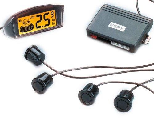 Spy SA LP208 Sensor de Asistencia para Aparcar Inalámbrico, Pantalla LCD, 4 Sensores