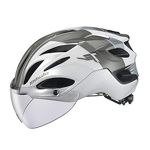 OGK KABUTO(オージーケーカブト) ヘルメット VITT (ヴィット) カラー:G-1パールホワイト サイズ:S/M 頭囲:(...